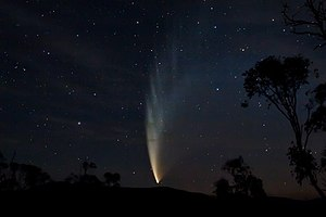 C/2006 P1 - Comet McNaught as seen from Swift's Creek, Victoria on 23 January 2007