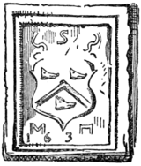 Fig. 738.—Arms of Swinton. (From Swinton Church, 163-.)