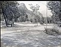 Completed South Campground area, showing sites, and visitor use. ; ZION Museum and Archives Image 003 01035 ; ZION 7687 (8d9f8b51ad9d450facb1a9dca1f09f8f).jpg