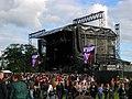 Concert stage, Malahide Castle - geograph.org.uk - 869199.jpg