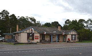 Condah Town in Victoria, Australia
