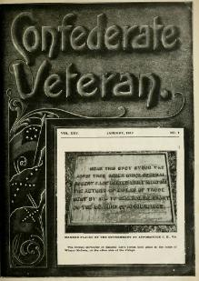 Confederate Veteran volume 25.djvu