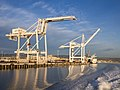 Container cranes in Oakland Inner Harbor (91600).jpg