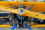 Continental R-670-5 radial engine, 220 hp - Continental Motors Corp'n Aircraft Engine - Boeing PT-17 Stearman - Collings Foundation - Massachusetts - DSC06805.jpg