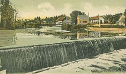 Great Falls, Contoocook River c. 1905