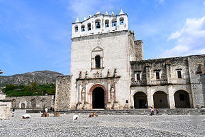Metztitlán - Image: Convento de los Reyes Magos