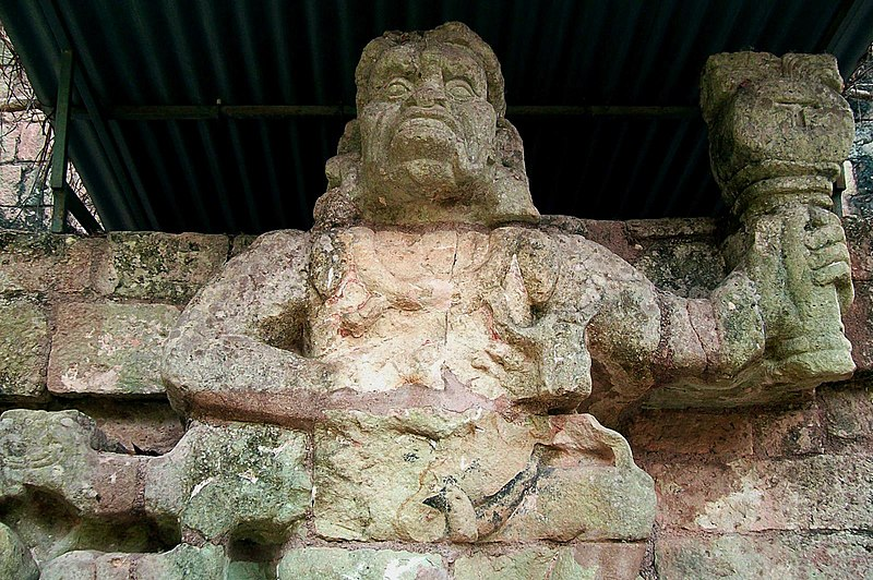 Lost City of Honduras, Mayan Sculpture.