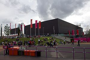Copper Box Arena - Image: Copper Box, 4 August 2012