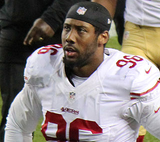 American football player, defensive end