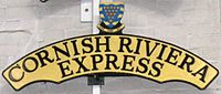 Cornish Riviera Express headboard at the NRM.jpg