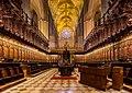 Coro, Catedral de Sevilla, Sevilla, España, 2015-12-06, DD 100-103 HDR.JPG