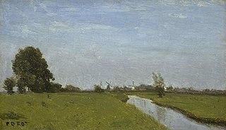 Dutch Landscape in Holland