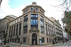 Casa de correos y tel grafos de vigo wikipedia la for Oficina de correos vigo