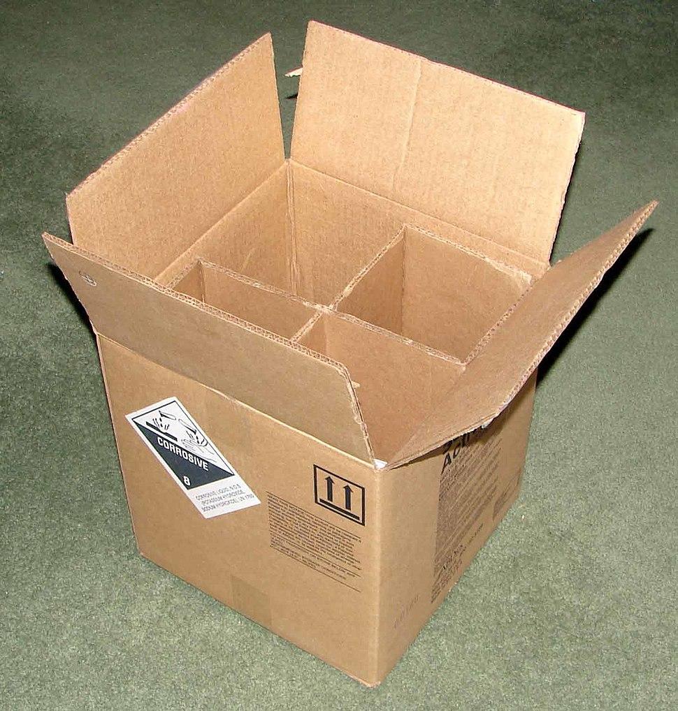 Corrugated box - haz mat