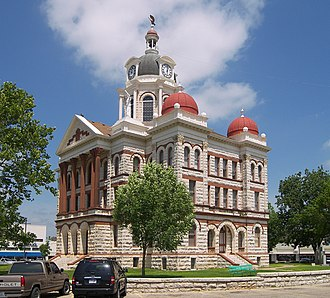 National Register of Historic Places listings in Coryell County, Texas - Image: Coryell county courthouse