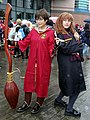 Cosplayers of Harry Potter and Hermione Granger 20181209a.jpg