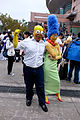 Cosplayers of Homer and Marge, The Simpsons at CWT41 20151212.jpg