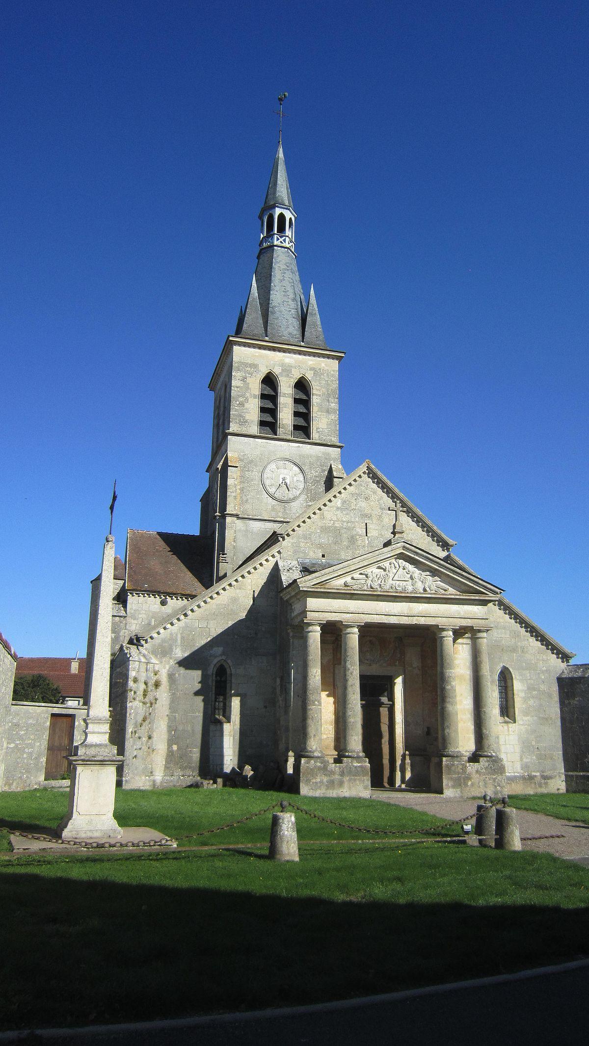 Église Saint-Germain-d'Auxerre de Coulmier-le-Sec — Wikipédia