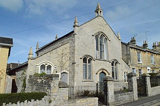 Weston, Bath - The Countess of Huntingdon's Chapel, an early Methodist chapel built by the Countess of Huntingdon, has now been converted into housing