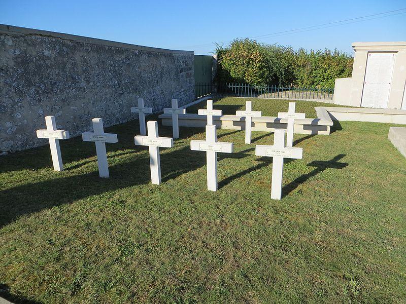 Quelques tombes de la nécropole nationale