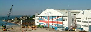 British Hovercraft Corporation - BHC Hangar in East Cowes