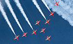 Cowes Week 2013 Red Arrows display 2.jpg