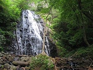 Crabtree Falls (North Carolina) - Image: Crabtree Falls 4
