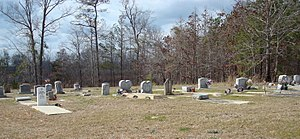 National Register of Historic Places listings in Macon County, Alabama - Image: Creek Stand Cemetery