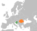 Croatia Romania Locator.png