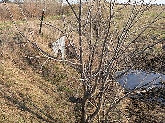 Bridge (Royal, Nebraska) - Image: Crossing on 522 Av N of 868 Rd W side