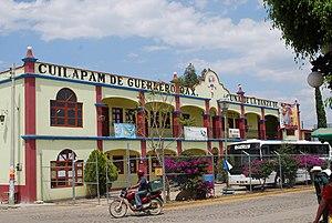 English: Cultural center of Cuilapam de Guerre...