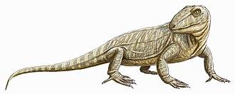 Sphenacodontidae - Life restoration of Cutleria