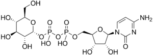 Cytidine diphosphate glucose - Image: Cytidine diphosphate glucose