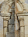 Détail de l'abside - Église Saint-Jean-Baptiste de Larbey (2).jpg