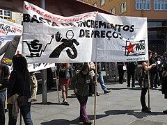 Día do traballo. Santiago de Compostela 2009 17.jpg
