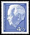 DBP 1964 430 Wiederwahl Bundespraesident Luebke 40Pf.jpg