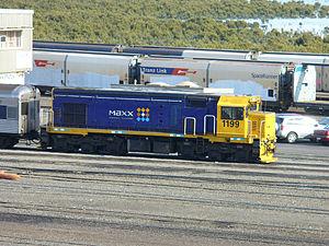 New Zealand DB class locomotive - DBR 1199 at Westfield