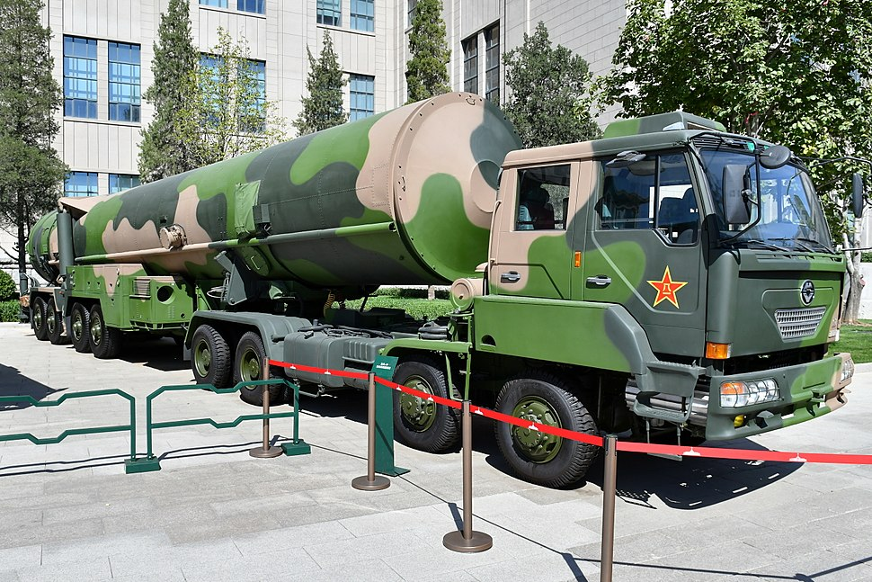 DF-31 ballistic missiles 20170919