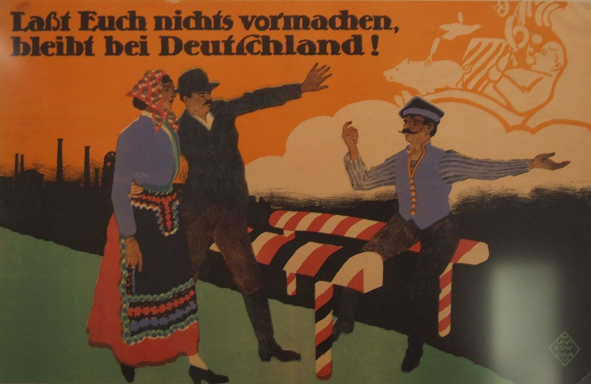 Picture of: File Dhm German Poster Upper Silesia 1921 Jpg Wikimedia Commons