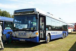 Scania OmniLink - Scania CK280UB OmniLink tri-axle bus at Showbus 2009.