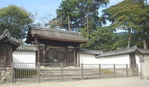 Karamon - A hirakaramon at Daigo-ji