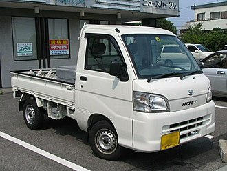 Kei truck - Daihatsu Hijet