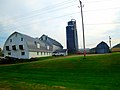 Dairy Farm with Harvestore silos - panoramio.jpg