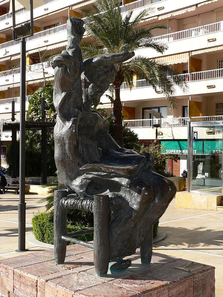 Сальвадора Дали Скульптура Дон Кихот