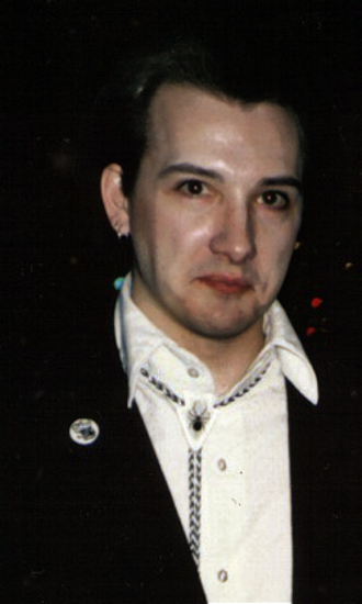 Anything (The Damned album) - Vocalist Dave Vanian in 1986.
