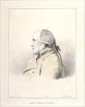 John Francis Rigaud - John Francis Rigaud by George Dance (1793)