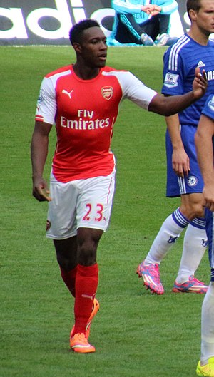 Danny Welbeck - Welbeck playing for Arsenal in 2014