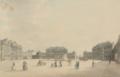 Dansk maler, 19. årh. - Parti fra Amalienborg Slotsplads.png