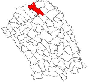 Darabani - Image: Darabani jud Botosani