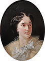 Daria Olsufjeva (Moro) by I. Makarov (1856, Tropinin museum).jpg
